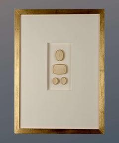 Paoletti Impronte, 'Mussei Diversi' Framed Plaster Cameo Seals, Rome c1800