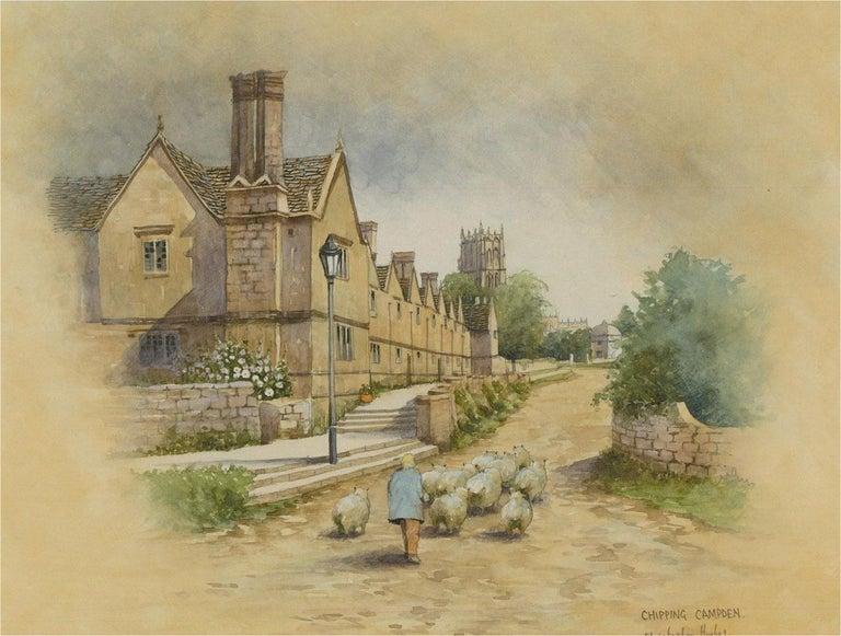 Christopher Hughes - Contemporary Watercolour, Chipping Campden For Sale 1