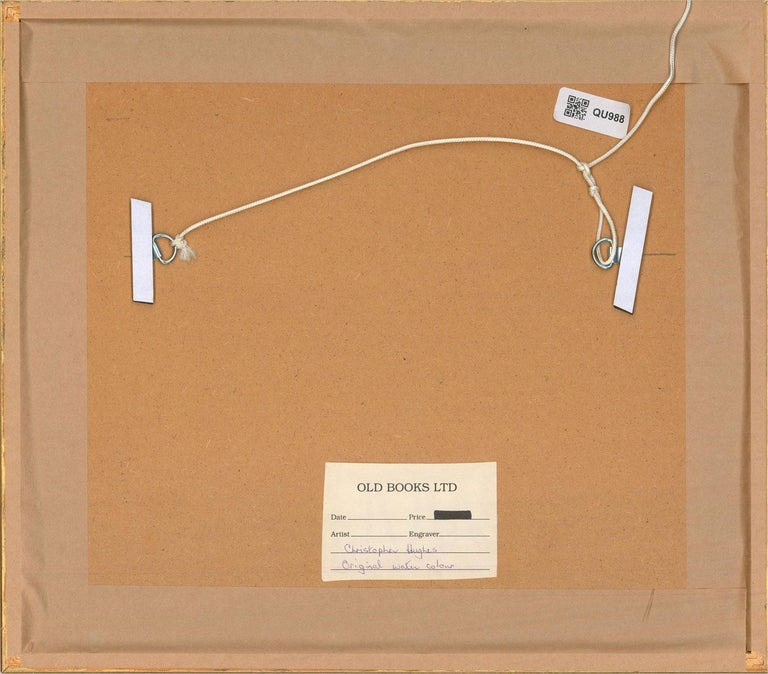Christopher Hughes - Contemporary Watercolour, Chipping Campden For Sale 2