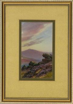 Garman Morris Avondale - Early 20th Century Gouache, Trio of Highland Scenes