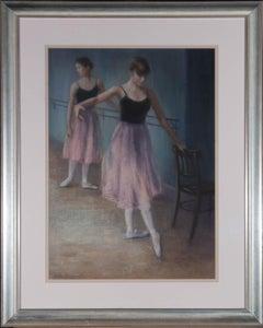 Anton Buglary - 20th Century Pastel, Ballet Dancers