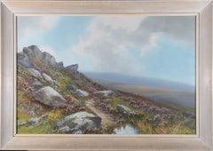 Reginald Daniel Sherrin (1891-1971) - Mid 20th Century Gouache, Dartmoor