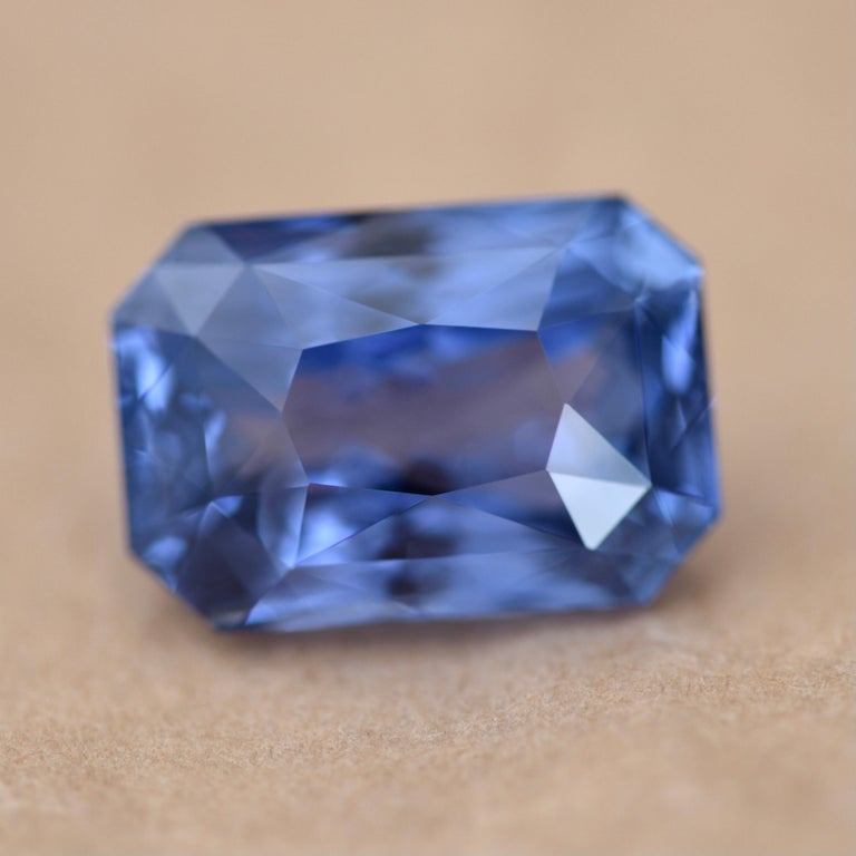 Sri Lanka is one of the best gemstone sources in the world. Especially if we are speaking about sapphires.  Sri lankan sapphires have very interesting hue that you can't mix up with other sapphires.  This stone is one of the best samples of Sri
