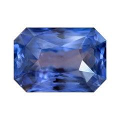 22.77 Carat Natural Sri Lankan Blue Sapphire Octagon Shape