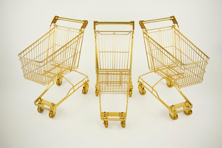 '22K GOLD CART for KIDS' by Christopher Kreiling  In New Condition For Sale In Pasadena, CA