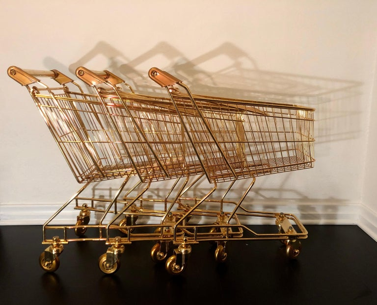 Contemporary '22K GOLD CART for KIDS' by Christopher Kreiling  For Sale