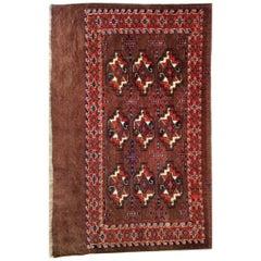 230 - Ancient Turkmenistan Yomut Chuval Horse Blanket