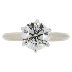 2.31 Carat Tiffany & Co. Diamond Engagement Ring