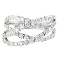 2.32 Carat Diamond Criss Cross Band