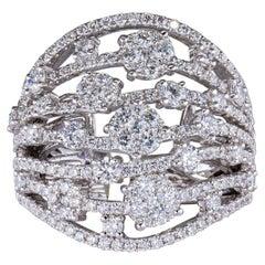 2.36 Carat Diamond Ring 18 Karat Gold