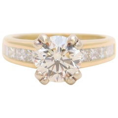 2.36 Carat Vintage Diamond Engagement Ring