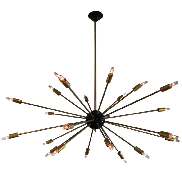 Twenty-Four Light Sputnik Chandelier