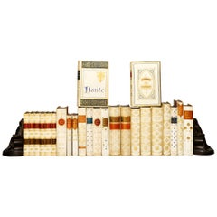 24 Volumes 'Vellum Bindings' Various Authors and Titles