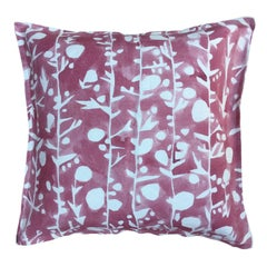 Coral French Quilt Cotton Linen Pillow