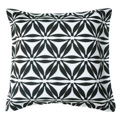 Star Noir Cotton Linen Pillow