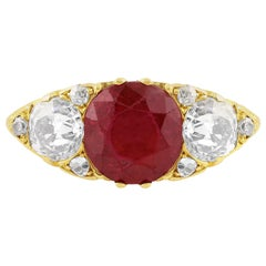 2.46 Carat Ruby Ring AGL Certified