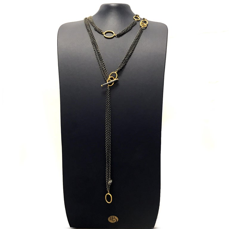 Wear It All Day Every Day Luxury: 24K Gold & Oxidized Silver