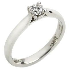 .25 Carat Diamond Platinum Solitaire Ring