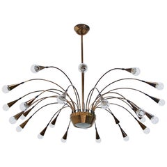 25-Light Italian Chandelier