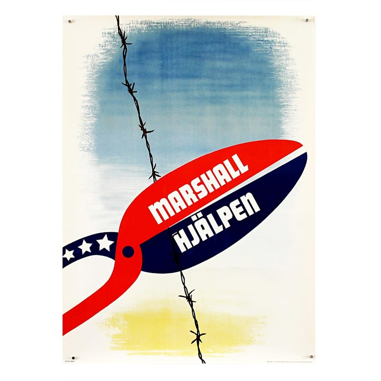 25 Original Marshall Plan Posters, a Complete Collection of the Contest Winners For Sale 3