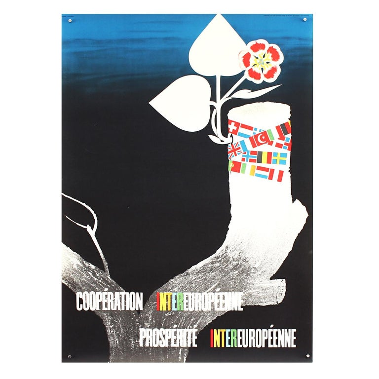 25 Original Marshall Plan Posters, a Complete Collection of the Contest Winners For Sale 5