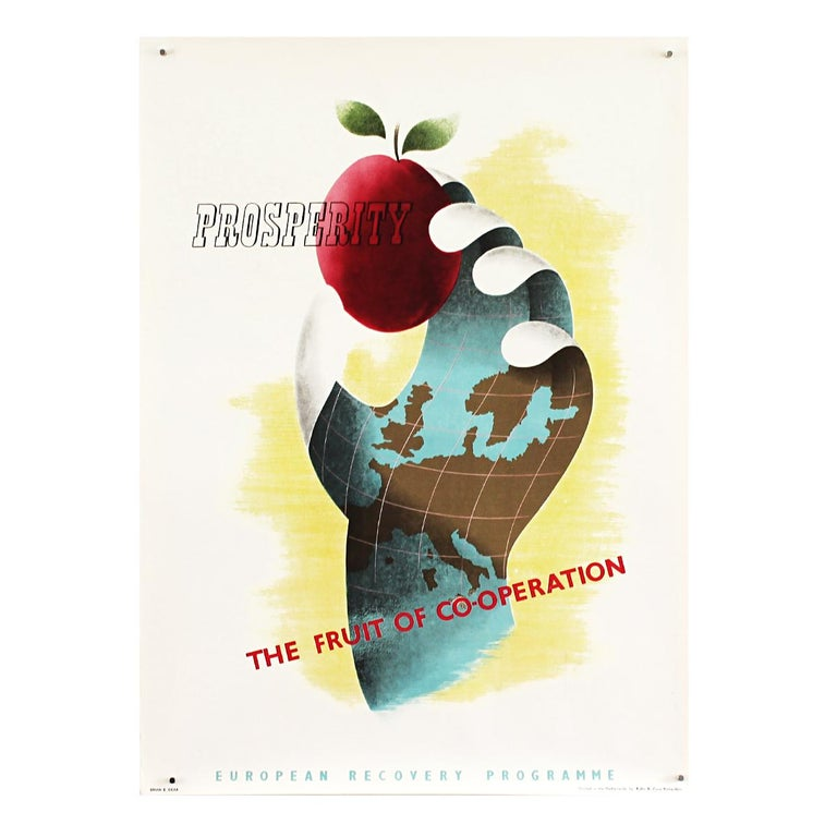 25 Original Marshall Plan Posters, a Complete Collection of the Contest Winners For Sale 7