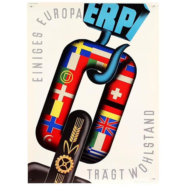 25 Original Marshall Plan Posters, a Complete Collection of the Contest Winners For Sale