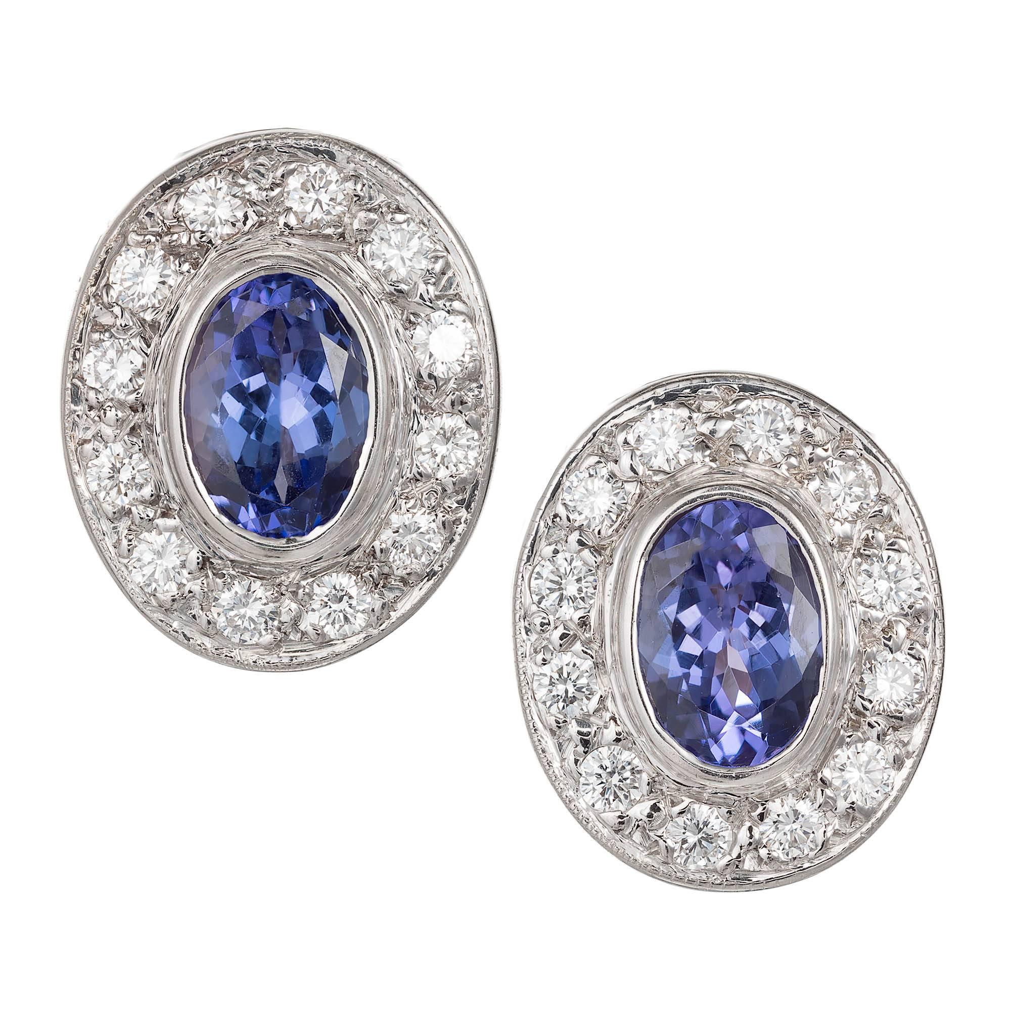 earrings sapphire top oval roman double shop diamond jules halo