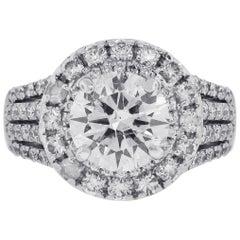 2.51 Carat Diamond Engagement Ring