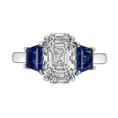 2.52ct Octagonal Step-Cut Diamond Ring 'E/VVS2'