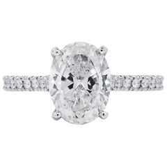 2.53 Carat Diamond GIA Ceritified Engagement Ring