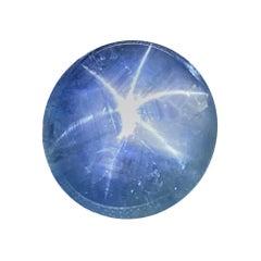 25.30 Carat Unheated Burmese Blue Star Sapphire