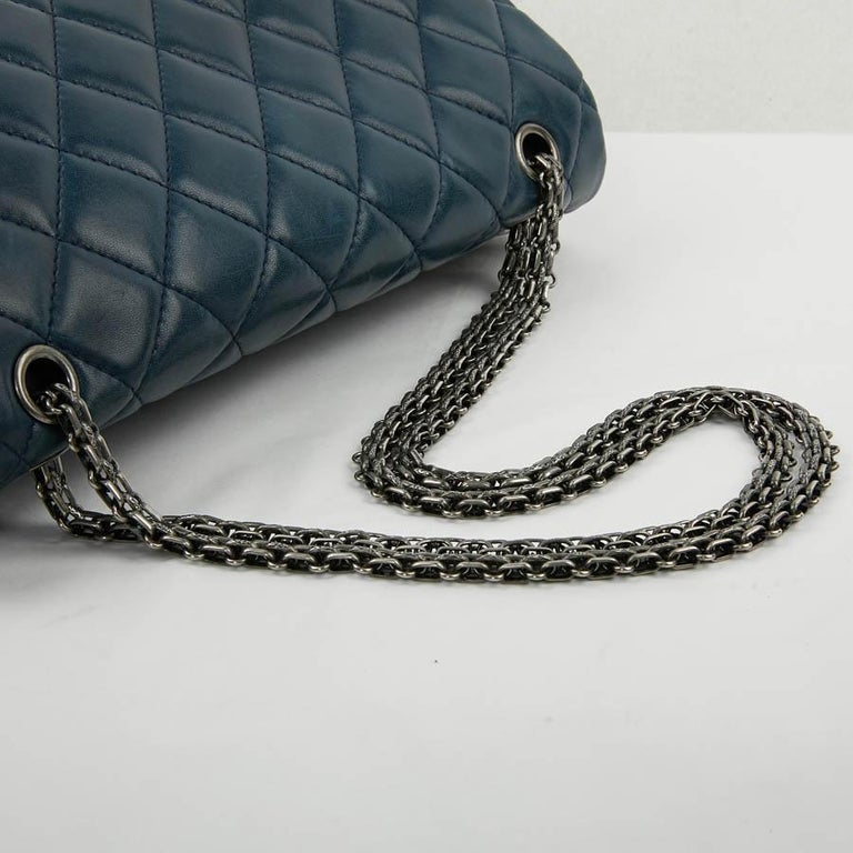 2.55 Maxi CHANEL Bag  For Sale 2