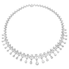 25.60 Carat Graduating Diamond Necklace