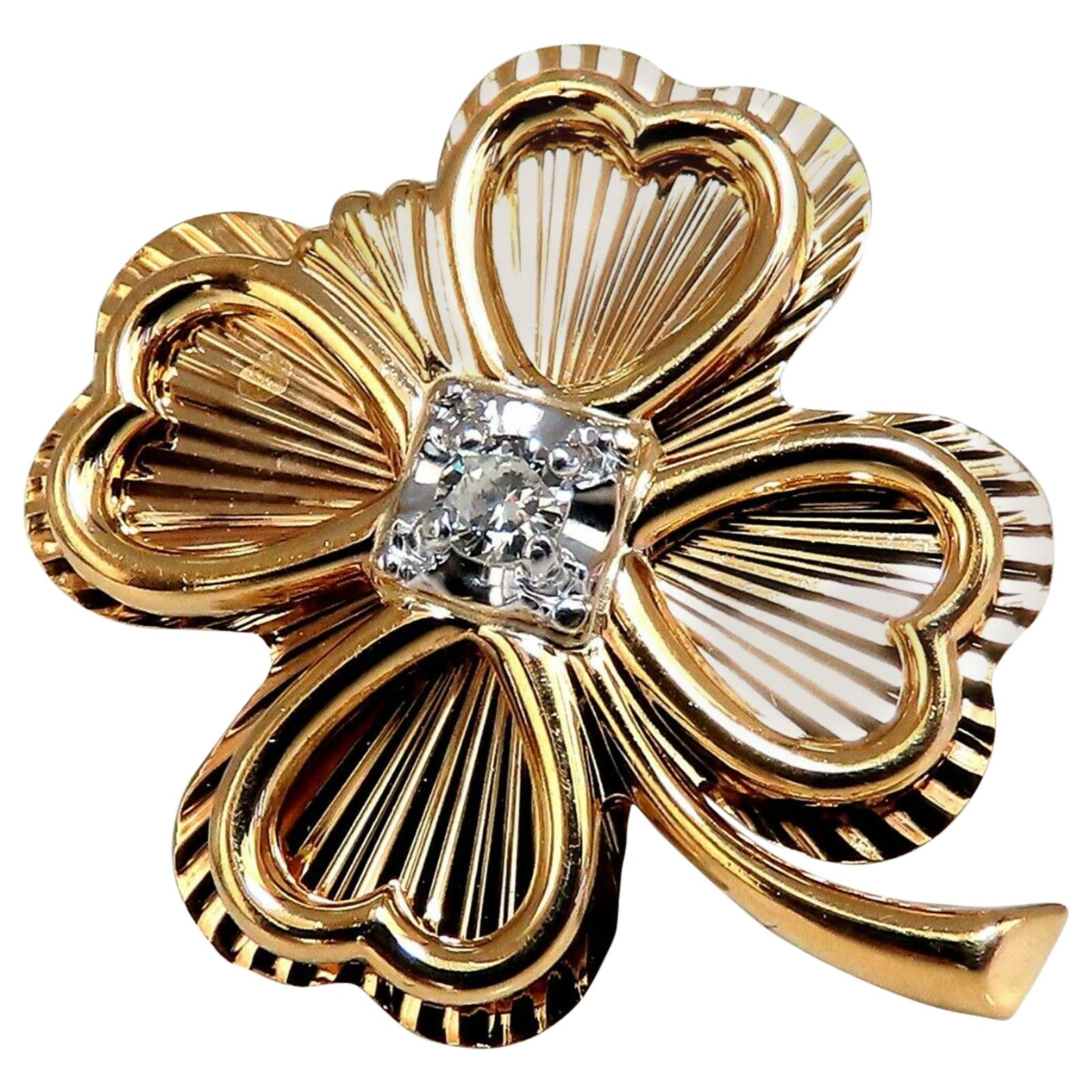 54d3eadb7 Antique 14k Gold Brooches - 1,037 For Sale at 1stdibs
