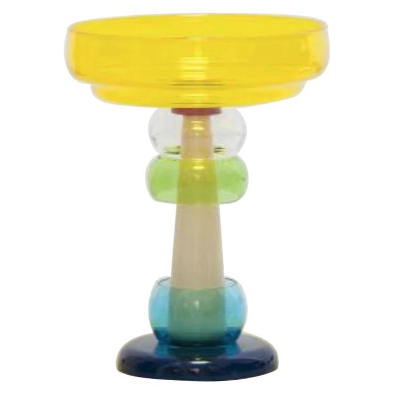 26 Niobe Glass Vase, by Ettore Sottsass from Memphis Milano