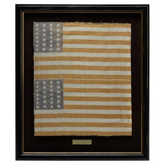 26-Star Printed American Flag Bolt of Two