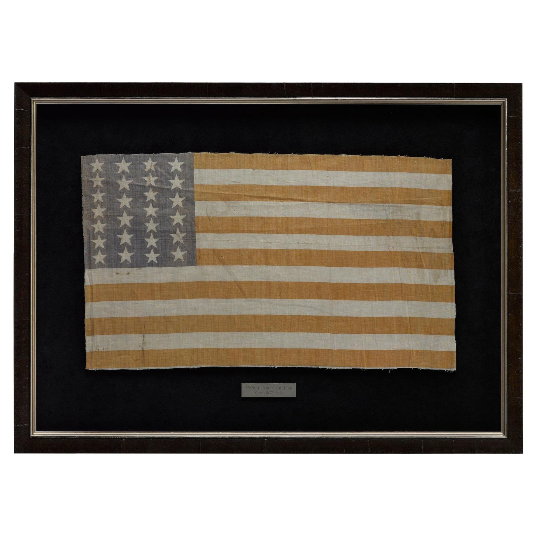 26-Star Printed American Flag