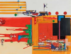1980s Abstract Drawings and Watercolors