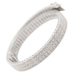 2.65 Carat Diamond Bracelet in 18 Karat Gold