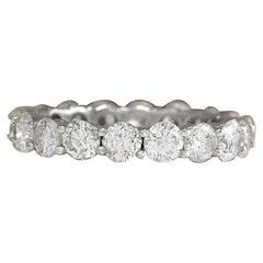 2.70 Carat Diamond 18 Karat White Gold Ring