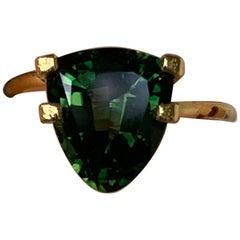 2.71 Carat Trillion Green Tourmaline Loose Gemstone