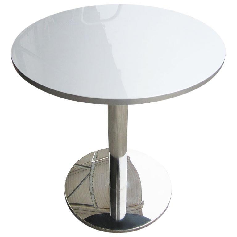 27.5 Ligne Roset Bobine Height Adjustable Table by Michael Köenig For Sale
