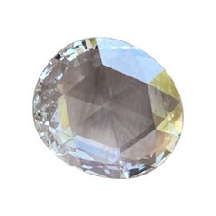 2.76 Carat Antique Rose Cut Diamond