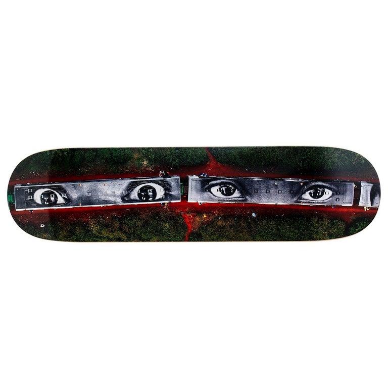 28 MILLIMÈTRES... Skateboard Deck by JR For Sale