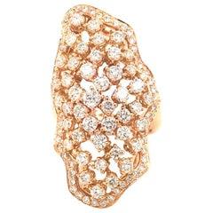 2.82 Carat Diamond Cocktail Ring