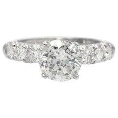 2.85 Carat Diamond Engagement Ring
