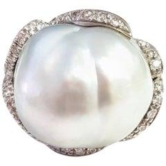 28.50 Carat Australian South Sea Pearl Ring