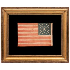 29 Star Parade Flag, Stars in a Spectacular Cross or Starburst Medallion Pattern