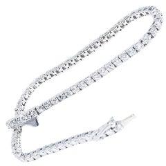 2.97 Carat Diamond Tennis Bracelet